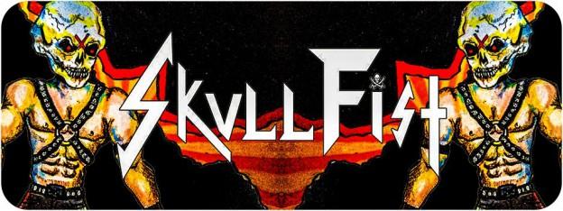 skull fist logo